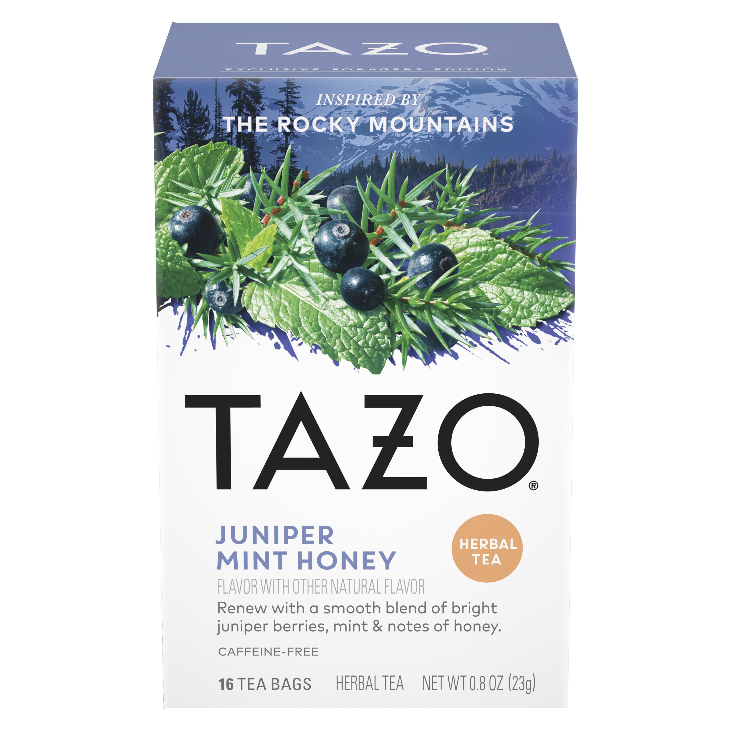 Juniper Mint Honey Herbal Tea Bags