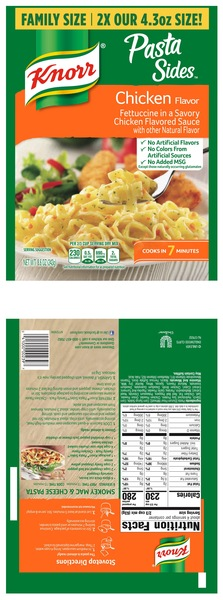 Smartlabel Fettuccine In A Savory Chicken Flavored Sauce 041000002397