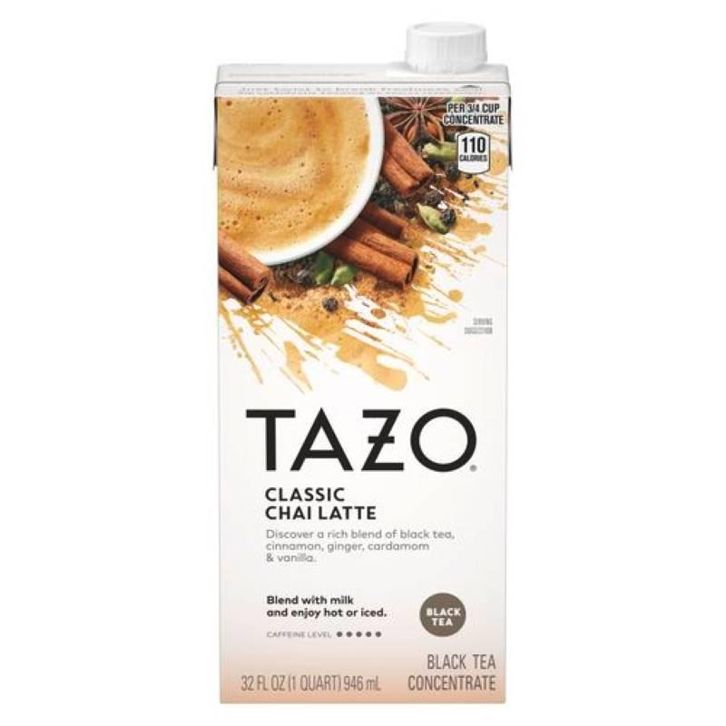 CAFFEINE FREE CHAI CLASSIC LATTE BLACK