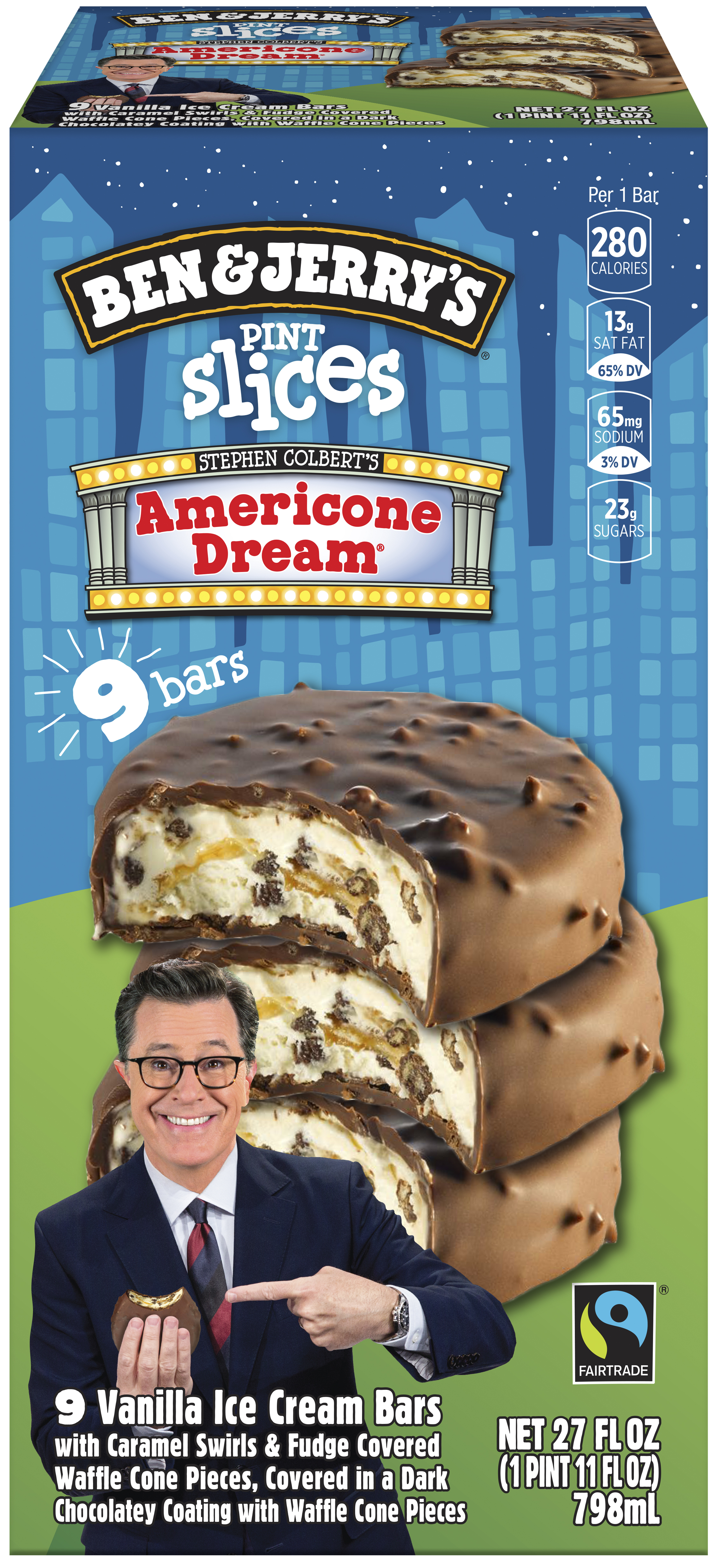 Smartlabel Americone Dream Vanilla Ice Cream With Caramel Swirls Fudge Covered Waffle Cone Pieces Covered In A Dark Chocolatey Coating With Waffle Cone Pieces Bars 076840001675 On this show the we crew will review misc ice cream products. fudge covered waffle cone pieces